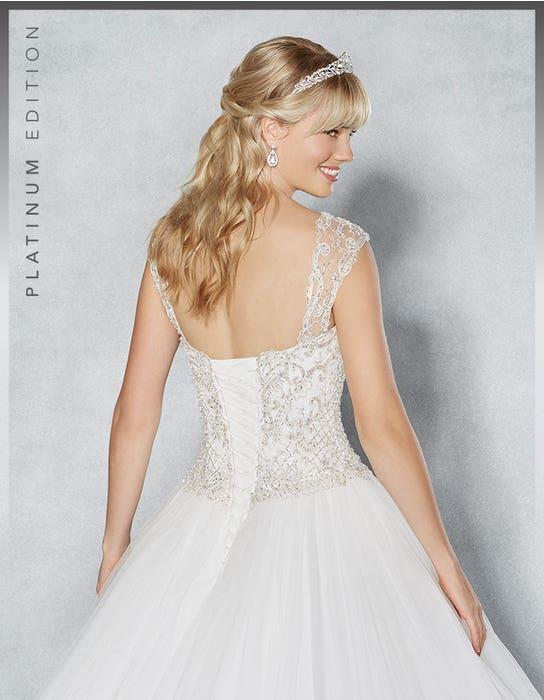 Isadora ballgown wedding dress crop back Viva Bride