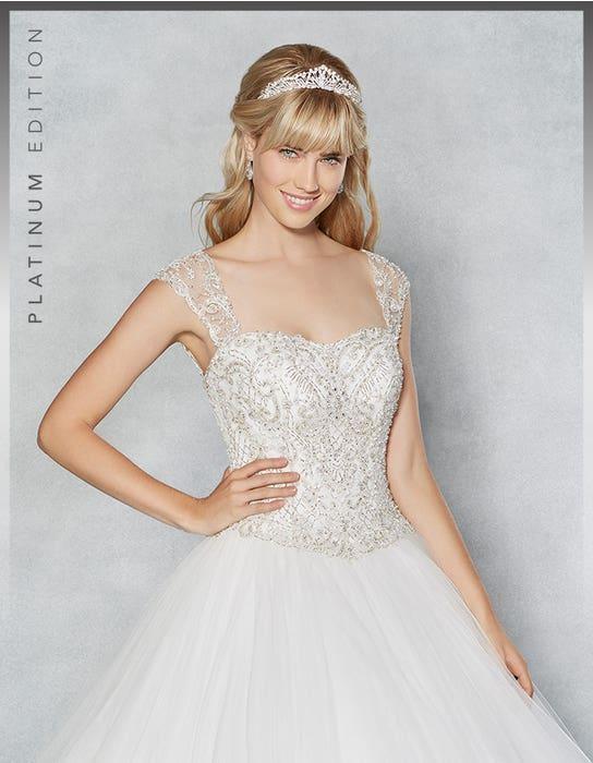 Isadora ballgown wedding dress crop front Viva Bride