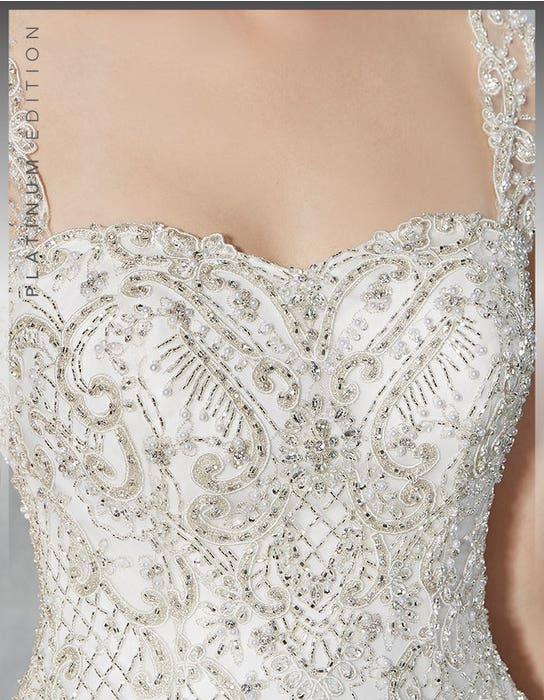 Isadora ballgown wedding dress detail Viva Bride
