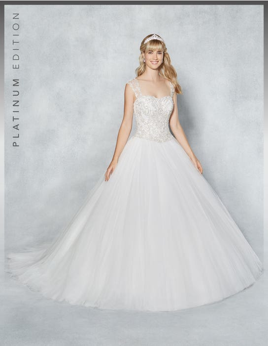 Isadora ballgown wedding dress front Viva Bride