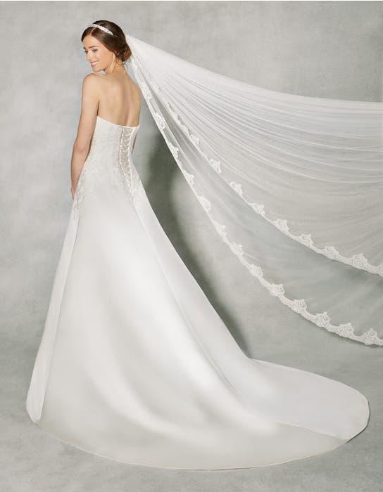 Joanna aline wedding dress back Anna Sorrano