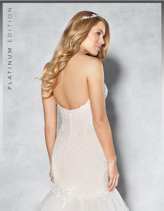 Jordana fishtail wedding dress crop back Viva Bride