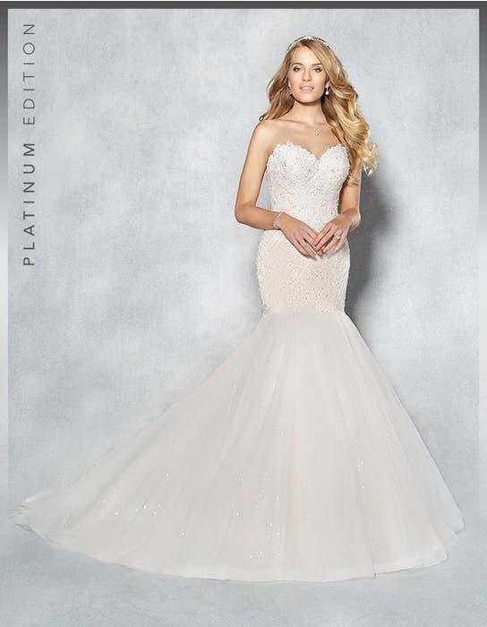 Jordana fishtail wedding dress front Viva Bride