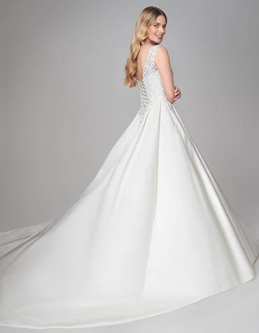 Katryn - a luxury satin ballgown