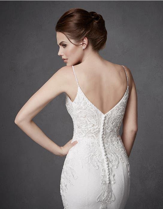 Keegan sheath wedding dress crop back Signature
