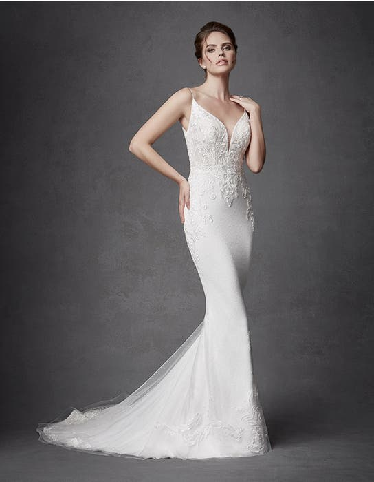 KEEGAN  - a glamorous sheath gown | WED2B