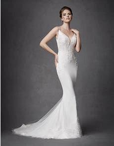 KEEGAN  - a glamorous sheath gown