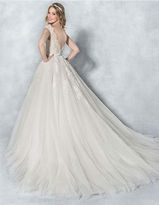 Kendra ballgown wedding dress back Viva Bride
