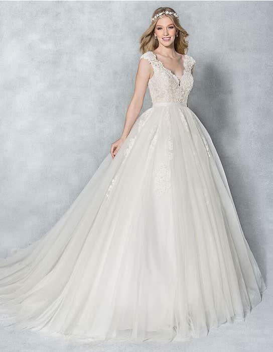 Kendra ballgown wedding dress front Viva Bride