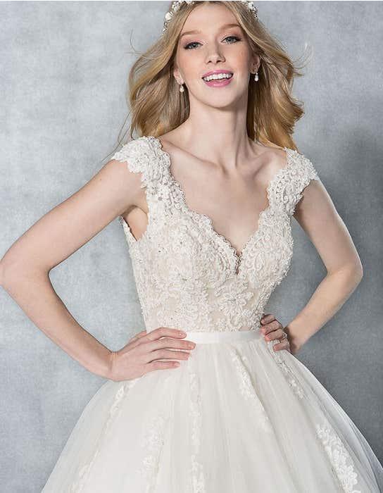 Kendra ballgown wedding dress front crop Viva Bride