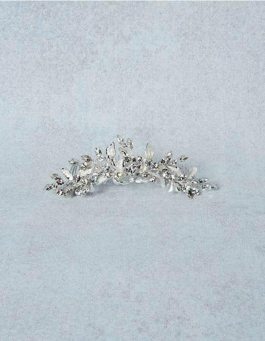 Kenza bridal comb detail Amixi