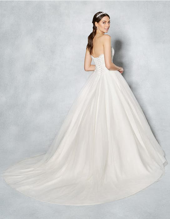 Kimberley ballgown wedding dress back Viva Bride