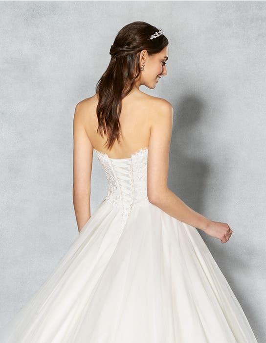 Kimberley ballgown wedding dress back crop Viva Bride