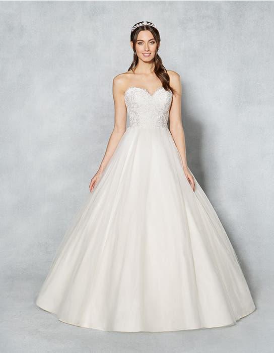 Kimberley ballgown wedding dress front Viva Bride