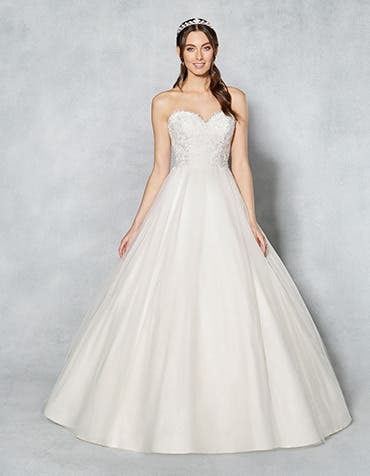 KIMBERLEY - a layered tulle ballgown