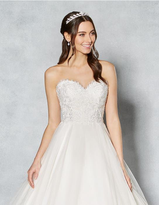 Kimberley ballgown wedding dress front crop Viva Bride