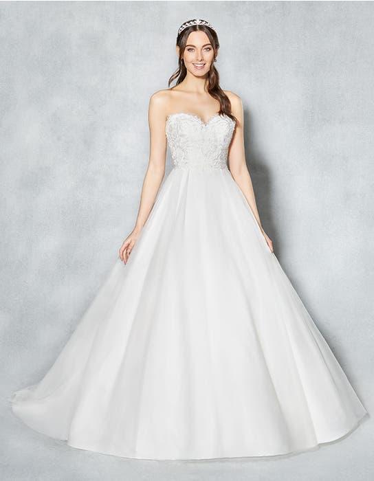 Kimberley ivory ballgown wedding dress front Viva Bride