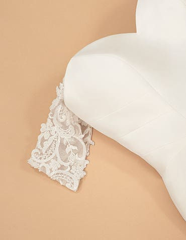 Lana - wide embroidered lace straps