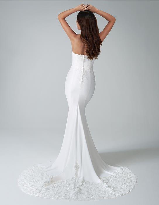 Landon Sheath wedding dress back Anna Sorrano
