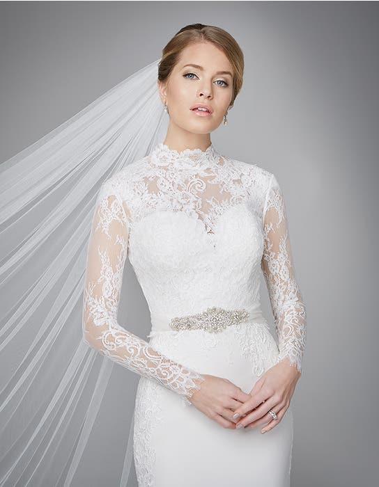 Lanelle sheath wedding dress detail Anna Sorrano