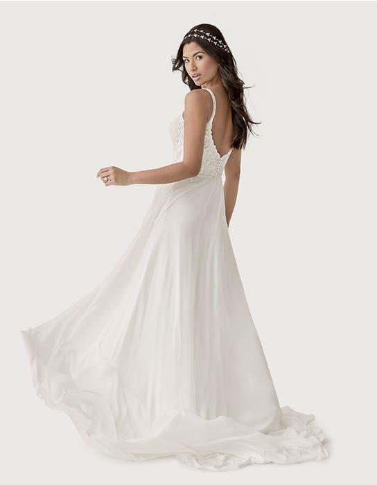 Lark aline wedding dress back Heidi Hudson