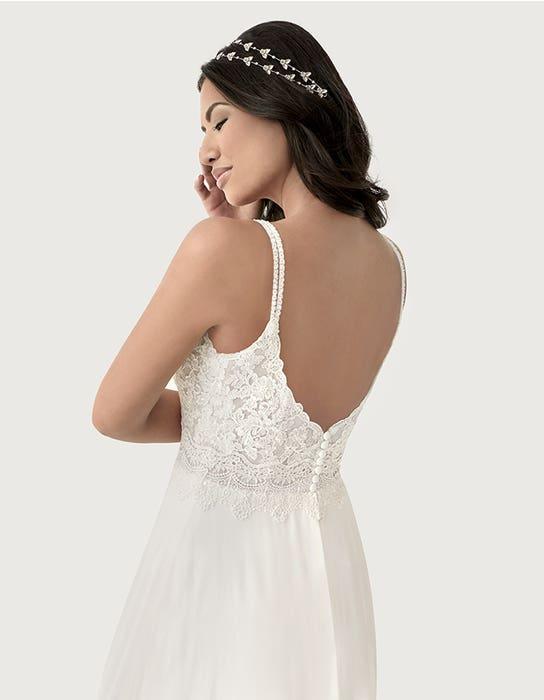 Lark aline wedding dress back crop Heidi Hudson