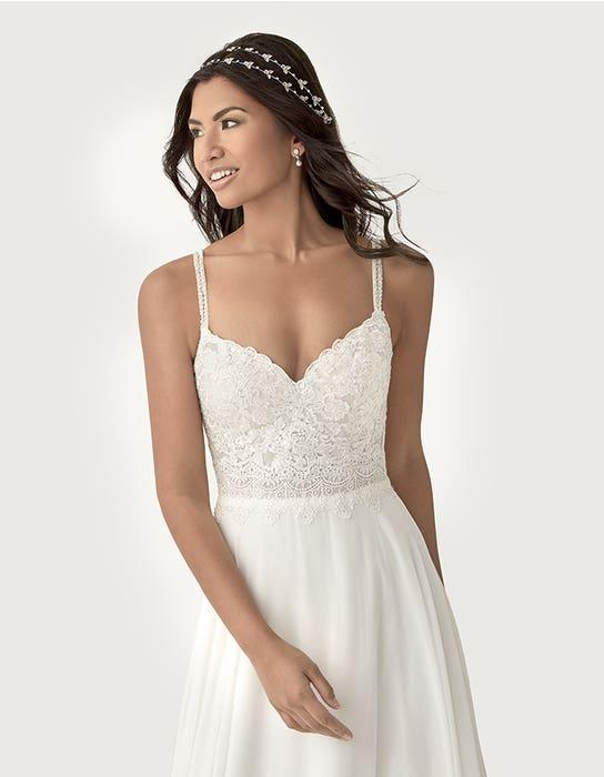 Lark aline wedding dress front crop Heidi Hudson
