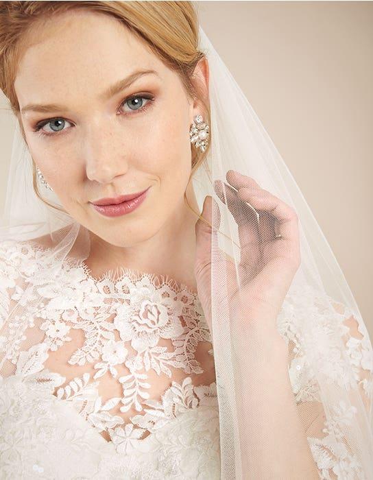 Laurenza fit _ flare wedding dress front crop2 Anna Sorrano