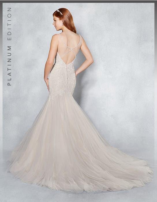 Leilani fishtail wedding dress back Viva Bride