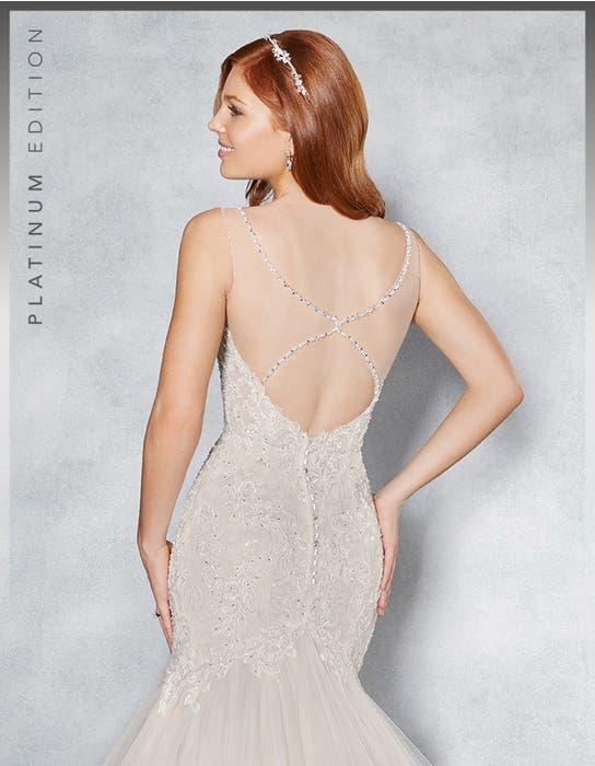 Leilani fishtail wedding dress back crop Viva Bride