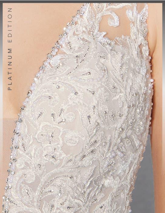 Leilani fishtail wedding dress detail Viva Bride