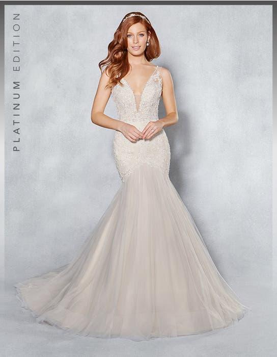 Leilani fishtail wedding dress front Viva Bride