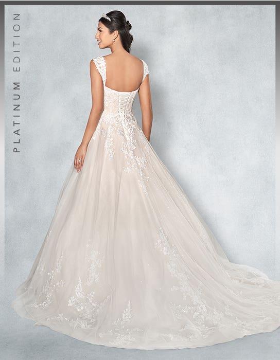 Lexington aline wedding dress back Viva Bride