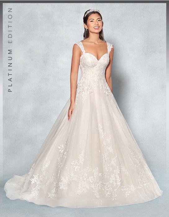 Lexington aline wedding dress front Viva Bride