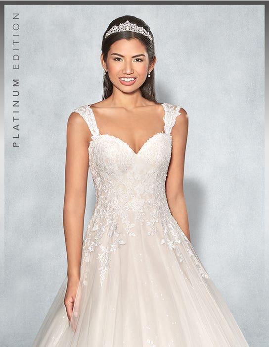 Lexington aline wedding dress front crop Viva Bride