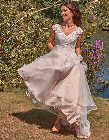 Liana Aline wedding dress front crop edit Viva Bride th