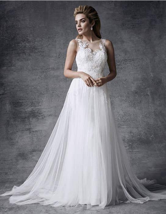 Lyra aline wedding dress front Signature