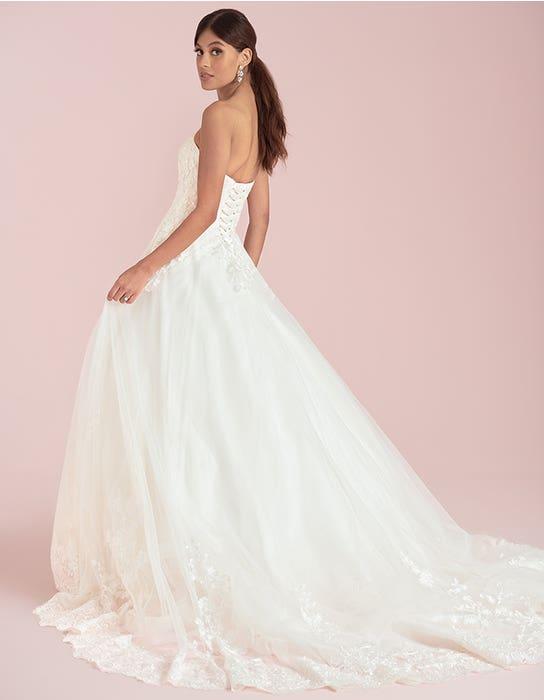 Madaline aline wedding dress back Viva Bride
