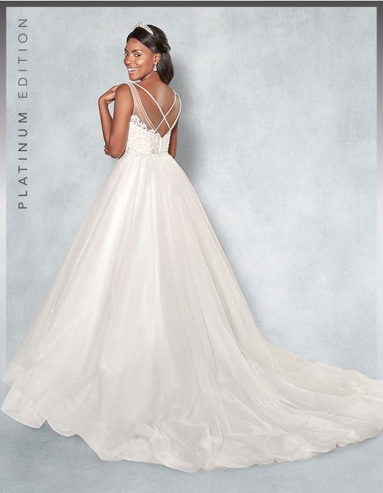 Mariah Ballgown wedding dress back Viva Bride