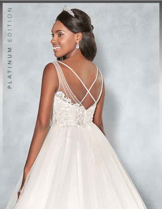 Mariah Ballgown wedding dress back crop Viva Bride
