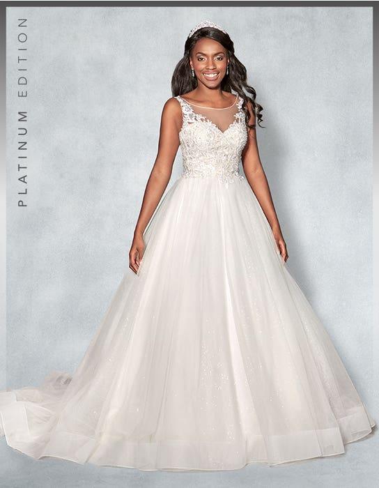 Mariah Ballgown wedding dress front Viva Bride