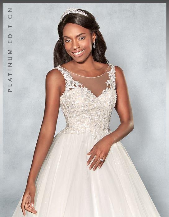 Mariah Ballgown wedding dress front crop Viva Bride