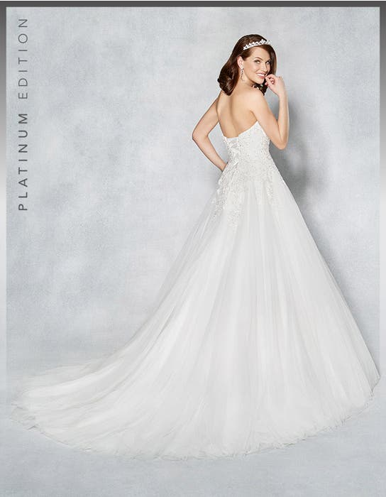 Marley aline wedding dress back Viva Bride