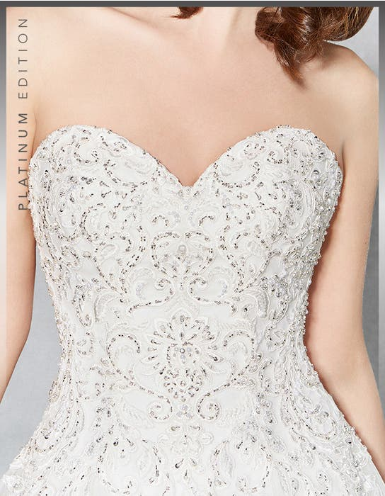 MARLEY - a fully embroidered gown | WED2B