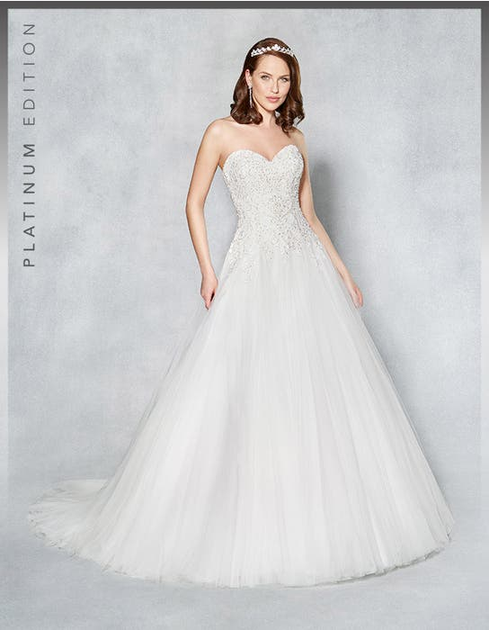 Marley aline wedding dress front Viva Bride