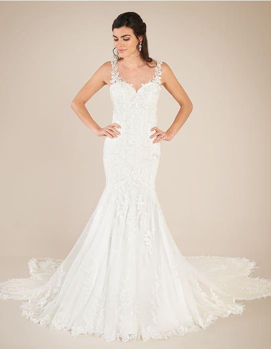 Marlow Fishtail wedding dress front Viva Bride