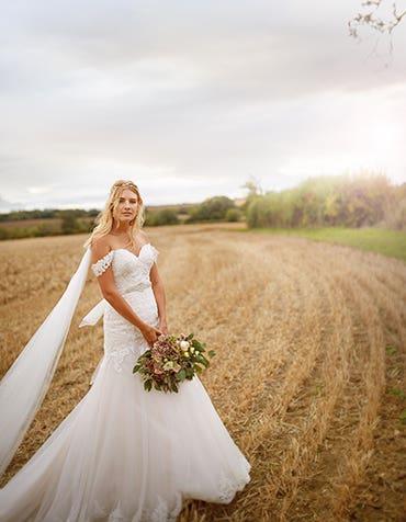 Maybelline fishtail wedding dress edit Viva Bride th