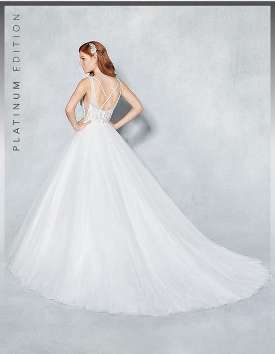 Milan ballgown wedding dress back Viva Bride