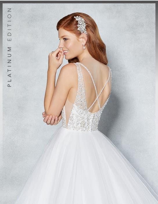 Milan ballgown wedding dress crop back Viva Bride