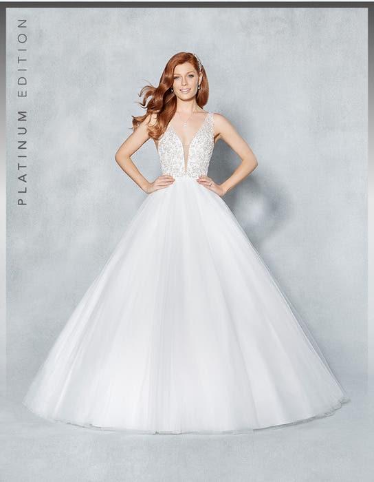 Milan ballgown wedding dress front Viva Bride